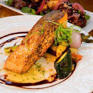 salmon farm to table