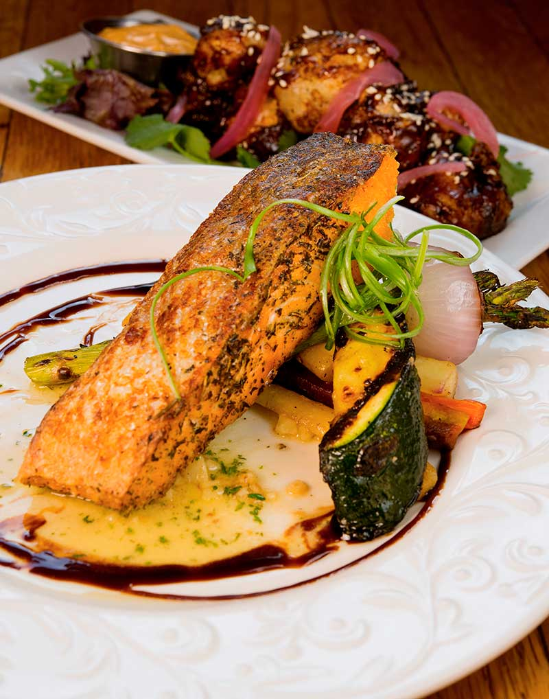 salmon farm to table